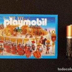 Juguetes antiguos: MINI CATÁLOGO DESPLEGABLE PLAYMOBIL 2006. Lote 69095725