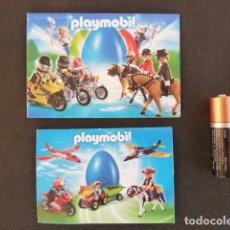 Juguetes antiguos: CATÁLOGO DESPLEGABLE PLAYMOBIL 2010 Y 2013. Lote 69111853