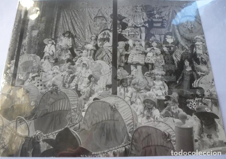 FOTO ESCAPARATE AÑOS 30 MUÑECAS FLORIDO LENCI PAGES (Juguetes - Catálogos y Revistas de Juguetes)