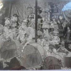 Juguetes antiguos: FOTO ESCAPARATE AÑOS 30 MUÑECAS FLORIDO LENCI PAGES. Lote 69368773