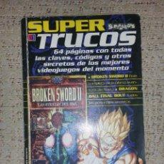 Juguetes antiguos: REVISTA SUPER TRUCOS (SUPERJUEGOS) Nº 03 GUÍA BROKEN SWORD 2 Y DISCWORLD 2. Lote 70158161