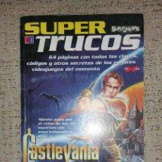 Juguetes antiguos: REVISTA SUPER TRUCOS (SUPERJUEGOS) Nº 18 GUÍA CASTLEVANIA 64 Y ZELDA DX (2ª PARTE). Lote 70162013