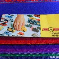 Juguetes antiguos: CATÁLOGO MINICARS MINI CARS ANGUPLAS 1964. REGALO STUDEBAKER BIG SIX. Lote 70209741
