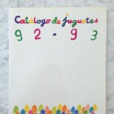 Juguetes antiguos: CATÁLOGO DE JUGUETES 92-93 EL CORTE INGLÉS - LEGO, PLAYMOBIL, BANDAI, SEGA, FAMOSA, HASBRO, ETC.. Lote 70361933