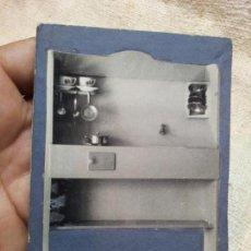 Juguetes antiguos: FOTOGRAFIA MUESTRARIO REPRESENTANTE CATALOGO JUGUETES COCINA MENAJE CASA MUÑECAS ------- AÑOS 40----. Lote 71436083