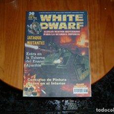 Juguetes antiguos: REVISTAS WHITE DWARF 38 EN ESPAÑOL. Lote 72112335