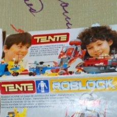 Brinquedos antigos: ANTIGUO CATÁLOGO FOLLETO DE PUBLICIDAD DE TENTE AÑO 1985. CUATRO HOJAS POR AMBOS LADOS. . Lote 72391921