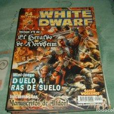 Juguetes antiguos: REVISTAS WHITE DWARF 54 EN ESPAÑOL. Lote 72546875