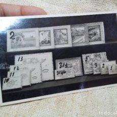 Juguetes antiguos: FOTOGRAFIA MUESTRARIO REPRESENTANTE CATALOGO JUGUETES -AÑOS 30-40 ALBUMINA . Lote 72914671