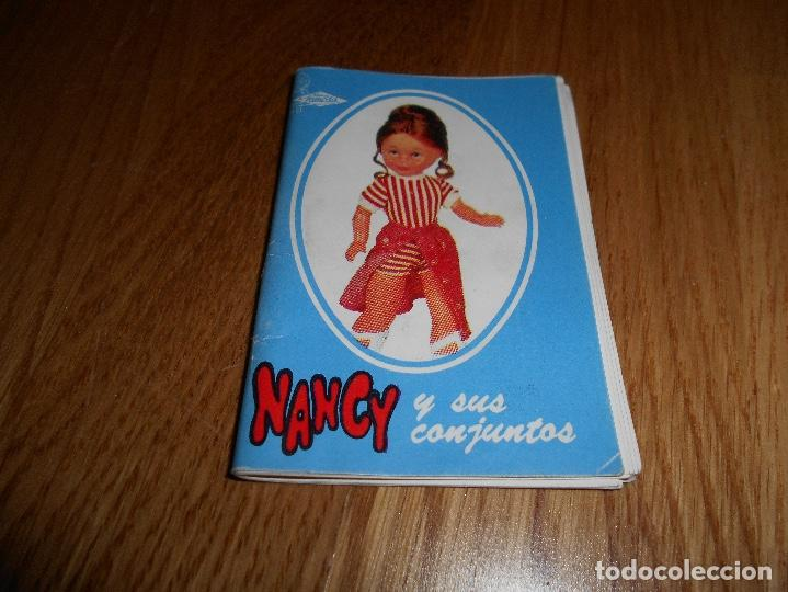 CATALOGO NANCY Y SUS CONJUNTOS FAMOSA AÑO 72 ORIGINAL DIDFICIL RARO (Juguetes - Catálogos y Revistas de Juguetes)