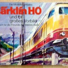 Juguetes antiguos: CATALOGO MÄRKLIN – BAHN HO (0380). Lote 74078239