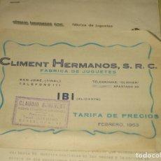 Jouets Anciens: CLIM - IBI ALICANTE 1966 - 63 - VER FOTOS . Lote 74353559