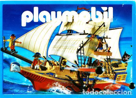 CATALOGO ORIGINAL PLAYMOBIL AÑO 2007- ROMANOS, DINOSAURIOS,BARCOS,TRENES, CABALLEROS,VOLQUETES GRUAS (Juguetes - Catálogos y Revistas de Juguetes)