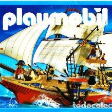 Juguetes antiguos: CATALOGO ORIGINAL PLAYMOBIL AÑO 2007- ROMANOS, DINOSAURIOS,BARCOS,TRENES, CABALLEROS,VOLQUETES GRUAS. Lote 74901827