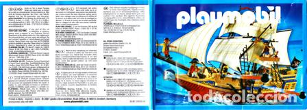Juguetes antiguos: CATALOGO ORIGINAL PLAYMOBIL AÑO 2007- ROMANOS, DINOSAURIOS,BARCOS,TRENES, CABALLEROS,VOLQUETES GRUAS - Foto 2 - 74901827