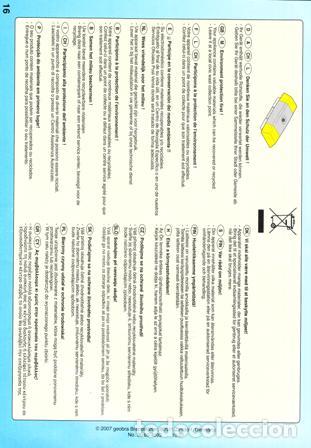 Juguetes antiguos: FOLLETO ORIGINAL , DESPIECE, MANUAL MONTAJE ORIGINAL DE PLAYMOBIL Nº 4046 - Foto 2 - 74901983