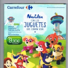 CATALOGO NAVIDEA CON LOS JUGUETES CARREFOUR NAVIDAD 2016