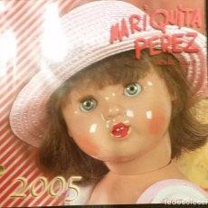 Juguetes antiguos: CATALOGO DE TIENDA DE MARIQUITA PEREZ 2005. Lote 75073603