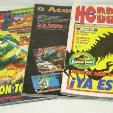 Juguetes antiguos - lote 4 revistas HOBBY CONSOLAS nº 16-25 y 28, nintendo,sega,gameboy,mega drive,neo geo.... - 68993305