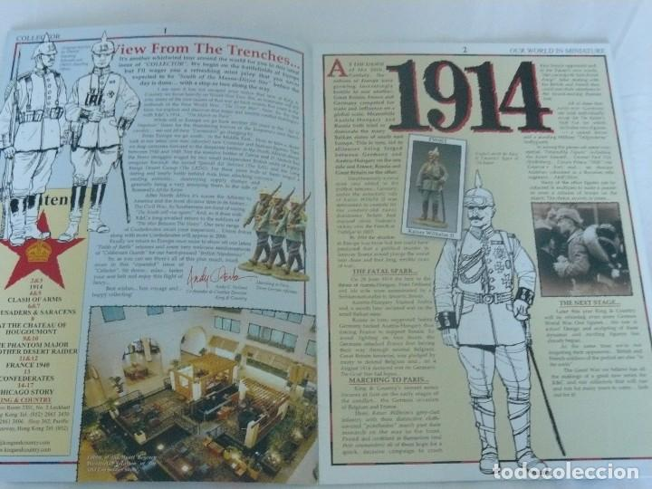 Juguetes antiguos: KING & COUNTRY COLLECTOR TITULADO OH WHAT A LOVELY WAR AUTUMN 2007 - Foto 2 - 194770023