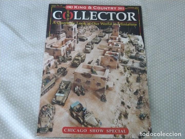 KING & COUNTRY COLLECTOR CHICAGO SHOW SPECIAL - AUTUMN 2011 (Juguetes - Catálogos y Revistas de Juguetes)