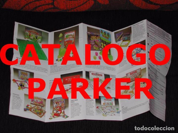 Juguetes antiguos: Catálogos JUGUETES PARKER - Monopoli / Risk / Pro Action Futbol / Pictionary - Foto 2 - 76707271