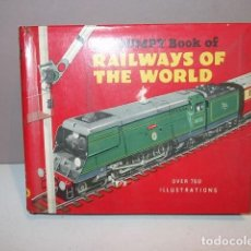 Juguetes antiguos: MINI LIBRO CATALOGO THE DUMPY BOOK OF RAILWAYS OF THE WORL AÑOS 60 BARATO. Lote 77833353