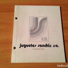 Juguetes antiguos: ANTIGUO CATALOGO JUGUETERIA JUGUETES SANCHIS 1980. Lote 79058081