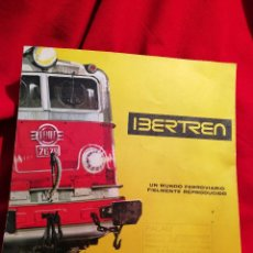 Juguetes antiguos: CATÀLOGO IBERTREN MODEL-IBER S.A. MADE IN SPAIN 1970.. Lote 79944569