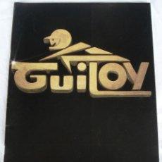 Juguetes antiguos: CATÁLOGO JUGUETES PROFESIONAL: MINIATURAS GUILOY 83. PROCEDENTE DE COLECCIONISTA. NUEVO.. Lote 80351197