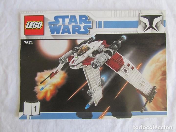 Juguetes antiguos: 3 catálogos de Lego Star Wars: 7674-1 + 7674-2 + 7673 - Foto 2 - 80442389