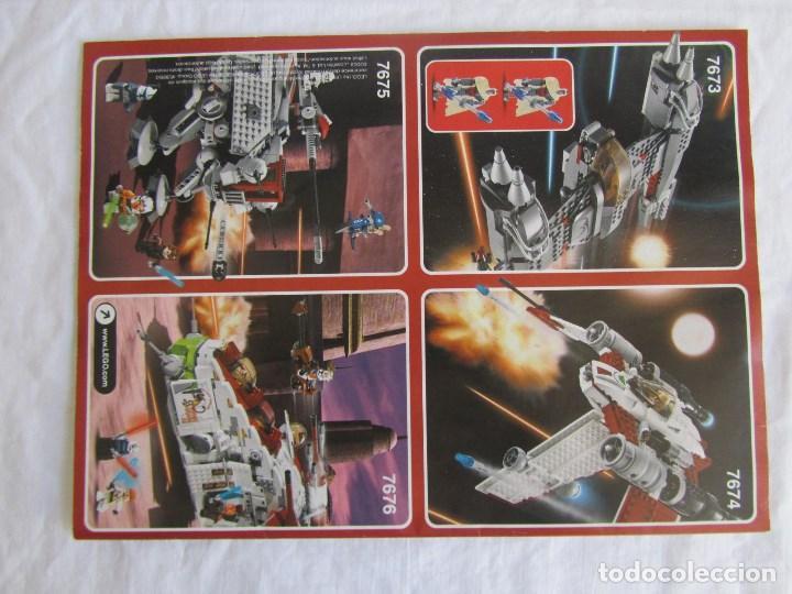 Juguetes antiguos: 3 catálogos de Lego Star Wars: 7674-1 + 7674-2 + 7673 - Foto 3 - 80442389