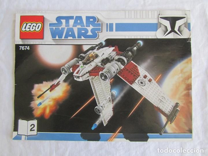 Juguetes antiguos: 3 catálogos de Lego Star Wars: 7674-1 + 7674-2 + 7673 - Foto 4 - 80442389