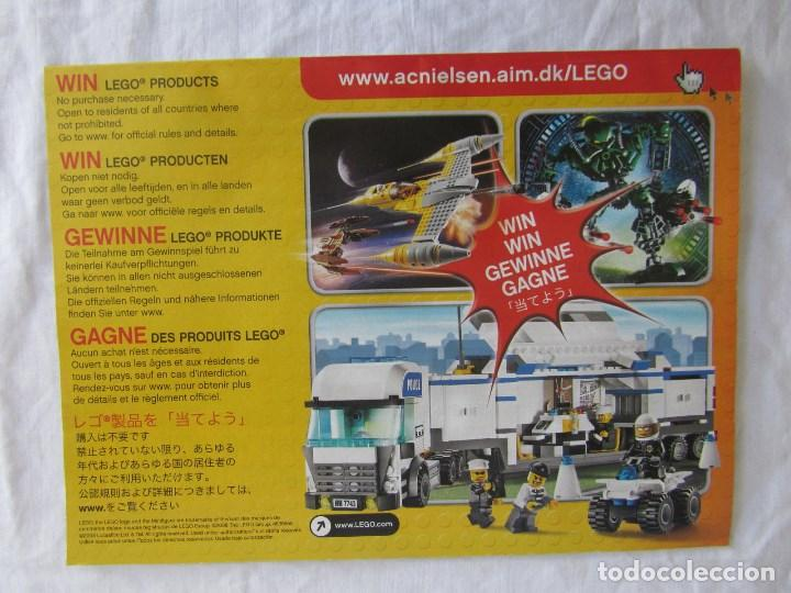 Juguetes antiguos: 3 catálogos de Lego Star Wars: 7674-1 + 7674-2 + 7673 - Foto 5 - 80442389