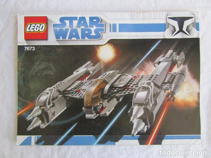 Juguetes antiguos: 3 catálogos de Lego Star Wars: 7674-1 + 7674-2 + 7673 - Foto 7 - 80442389