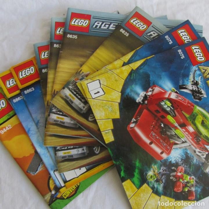 10 CATÁLOGOS DE LEGO: AGENTS + ATLANTIS + WORL RACERS + NINJAGO + CITY (Juguetes - Catálogos y Revistas de Juguetes)