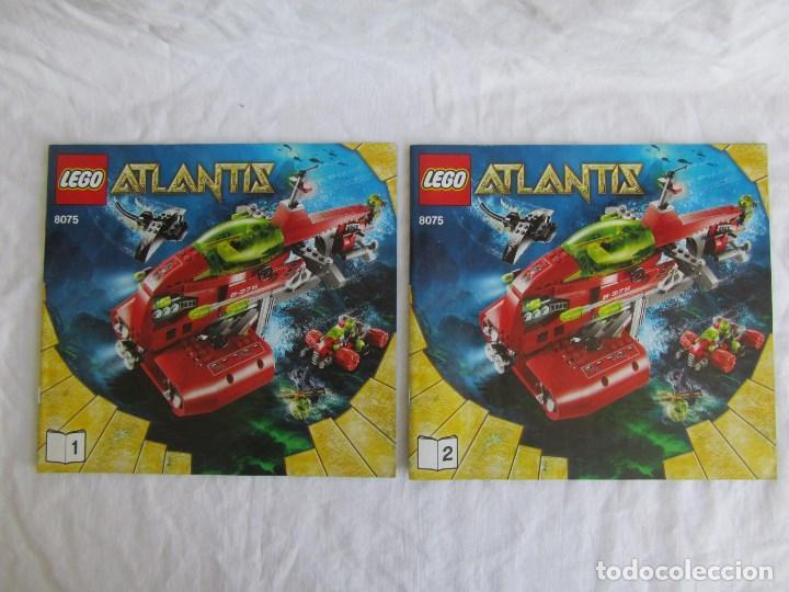 Juguetes antiguos: 10 catálogos de Lego: Agents + Atlantis + Worl Racers + Ninjago + City - Foto 2 - 80443237