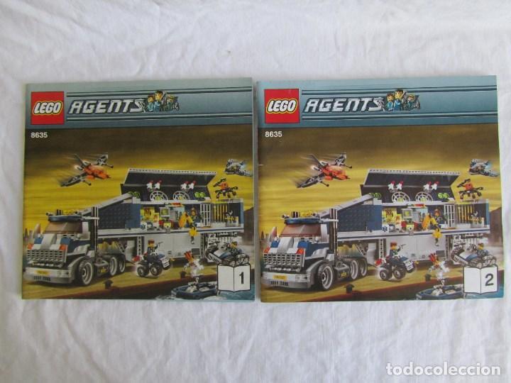 Juguetes antiguos: 10 catálogos de Lego: Agents + Atlantis + Worl Racers + Ninjago + City - Foto 4 - 80443237
