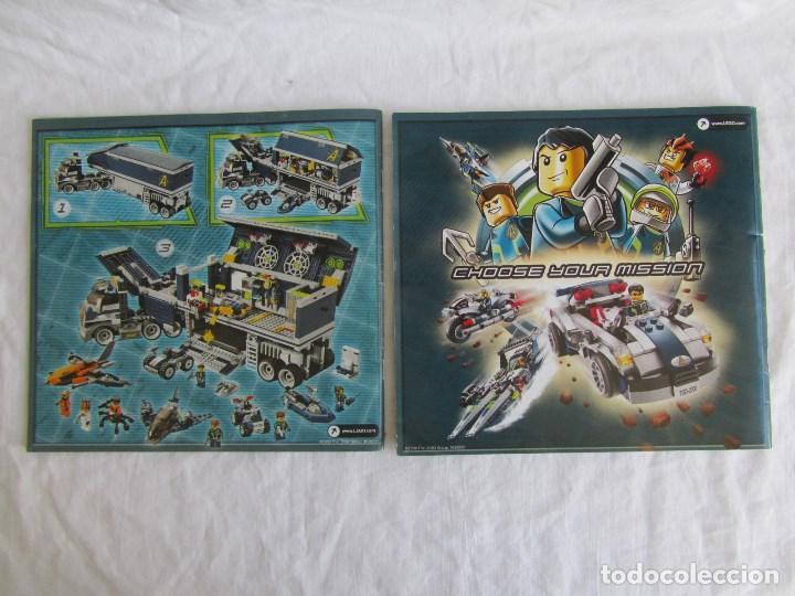 Juguetes antiguos: 10 catálogos de Lego: Agents + Atlantis + Worl Racers + Ninjago + City - Foto 5 - 80443237