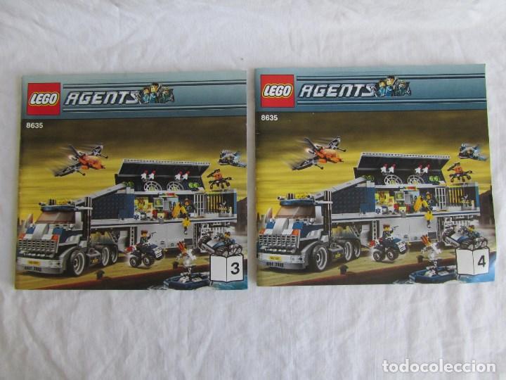 Juguetes antiguos: 10 catálogos de Lego: Agents + Atlantis + Worl Racers + Ninjago + City - Foto 6 - 80443237