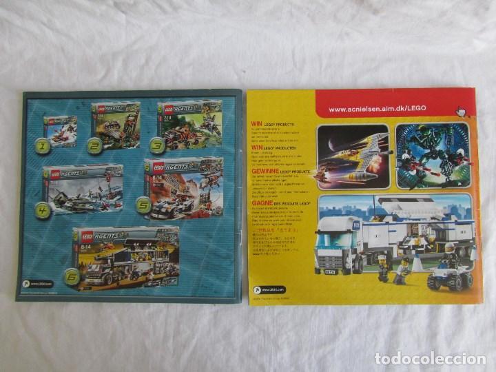 Juguetes antiguos: 10 catálogos de Lego: Agents + Atlantis + Worl Racers + Ninjago + City - Foto 7 - 80443237