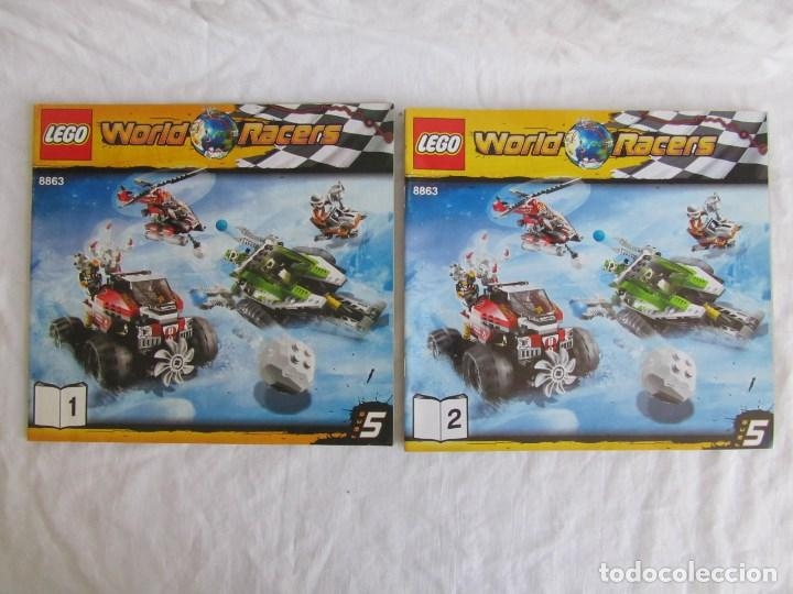Juguetes antiguos: 10 catálogos de Lego: Agents + Atlantis + Worl Racers + Ninjago + City - Foto 8 - 80443237