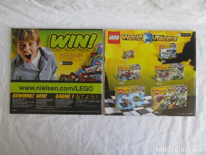 Juguetes antiguos: 10 catálogos de Lego: Agents + Atlantis + Worl Racers + Ninjago + City - Foto 9 - 80443237