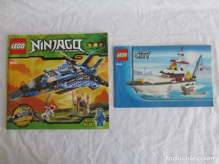 Juguetes antiguos: 10 catálogos de Lego: Agents + Atlantis + Worl Racers + Ninjago + City - Foto 10 - 80443237