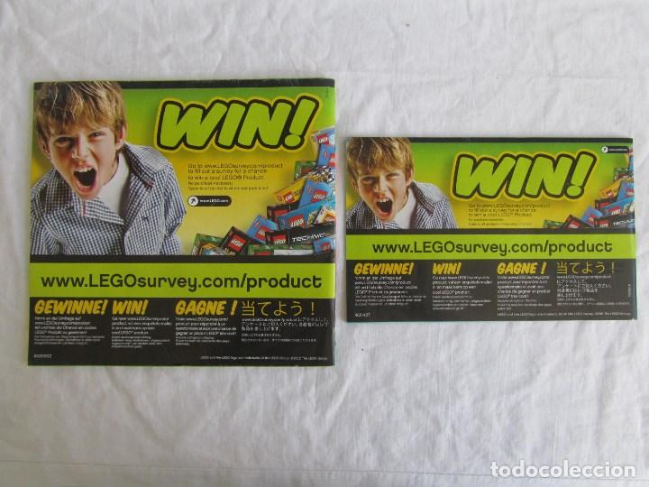 Juguetes antiguos: 10 catálogos de Lego: Agents + Atlantis + Worl Racers + Ninjago + City - Foto 11 - 80443237