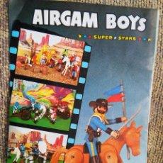 Giocattoli antichi: PUBLICIDAD A DOS CARAS ORIGINAL AÑOS 70 - AIRGAM BOYS SUPER STARS - TRASERA AIRGAM 1978 ARGENTINA . Lote 82821080