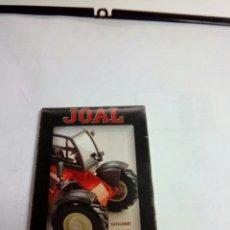 Juguetes antiguos: CATALOGO JOAL 2001. Lote 82947478