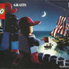 Juguetes antiguos: CATALOGO JUGUETES LEGO 1989. Lote 84400320
