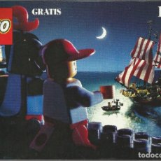Juguetes antiguos: CATALOGO JUGUETES LEGO 1989. Lote 84400452