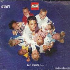 Juguetes antiguos: CATALOGO JUGUETES LEGO 2001. Lote 84400708